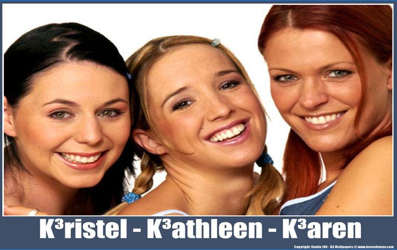 K3 สามสาวเสียงดีจากเบลเยี่ยม